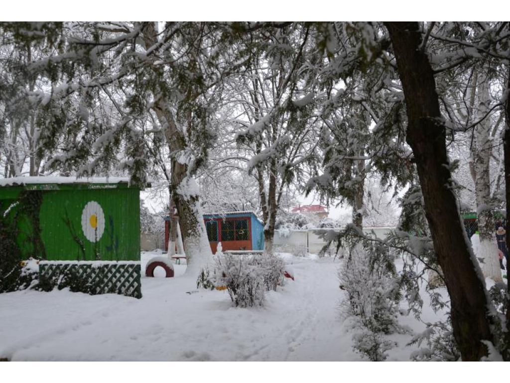 Пришла зима, кругом лежит пушистый снег!